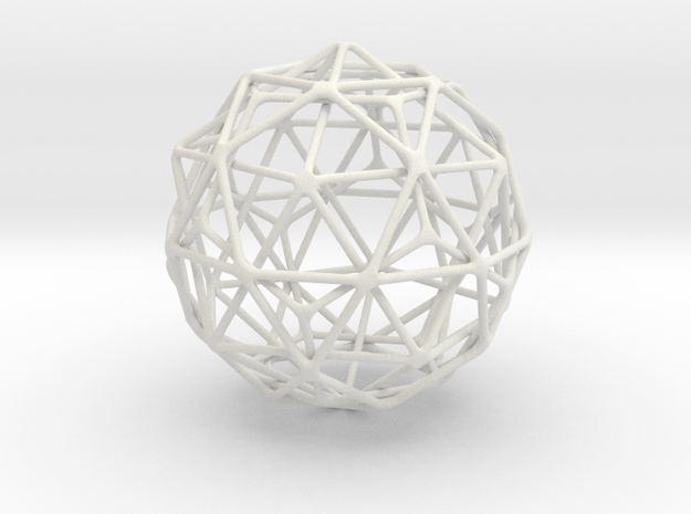Medium Nested Polyhedra 3d printed