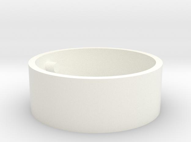 AbraCloudAbra Cap in White Processed Versatile Plastic