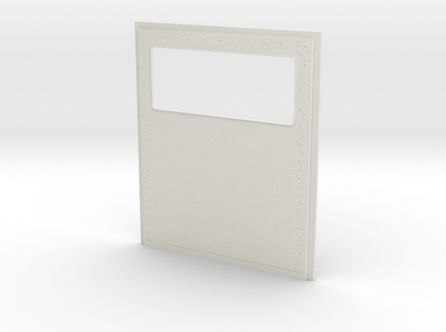 King Hauler Daycab Panel, Large Window, No Lights in White Natural Versatile Plastic