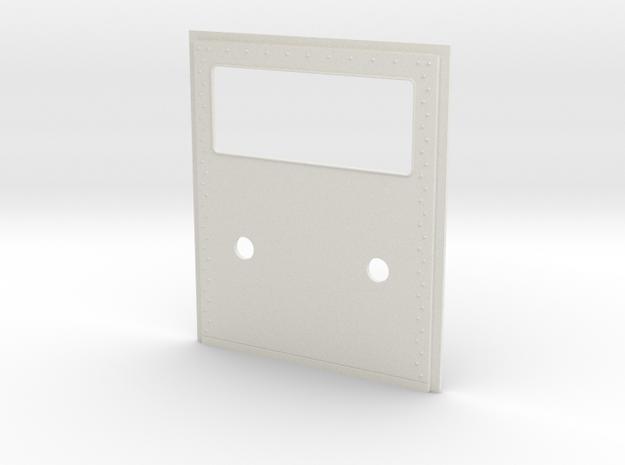 King Hauler Daycab Panel, Lg Window, 2 5mmLights in White Natural Versatile Plastic