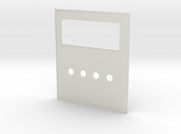 King Hauler Daycab Panel, Lg Window, 4 5mm Lights in White Natural Versatile Plastic