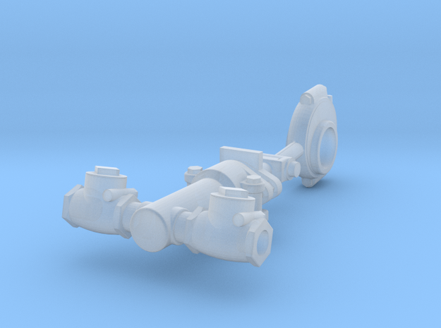 Water Pump Asy- Hicks Marine Engine in Smooth Fine Detail Plastic: 1:12