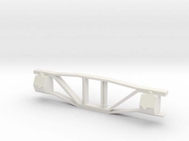 SR&RL Freight Archbar Sideframe 1:20 F scale in White Natural Versatile Plastic