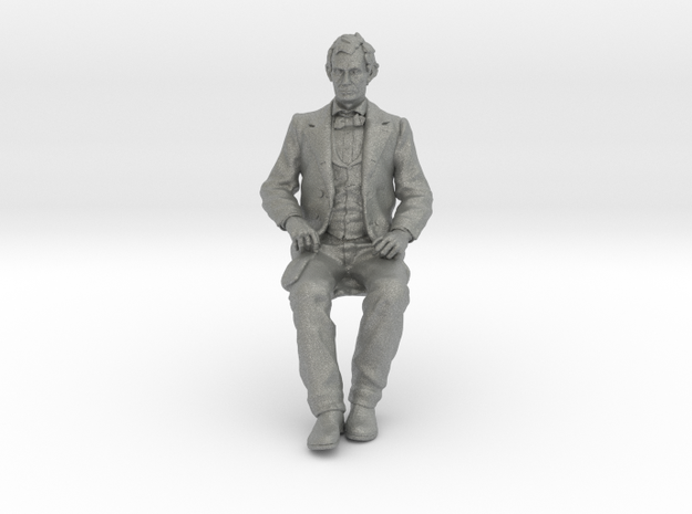 SE Young Abe Seated in Gray PA12