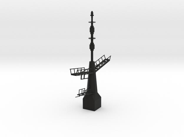 1/72 scale Type 23 Rear Mast in Black Natural Versatile Plastic