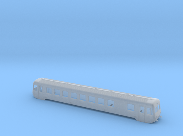BR 627.1 Spur TT 1:120 in Smoothest Fine Detail Plastic