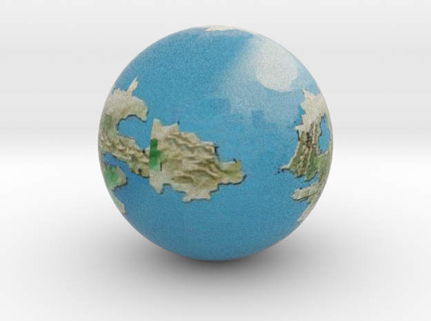 Andoria in Natural Full Color Sandstone: Large
