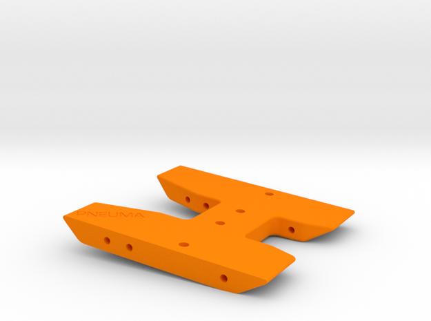 Pneuma Skid - Hamburg Trans in Orange Processed Versatile Plastic