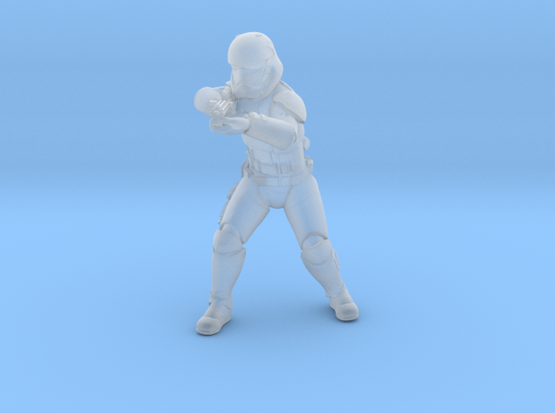 sovereign trooper 02 in Smooth Fine Detail Plastic