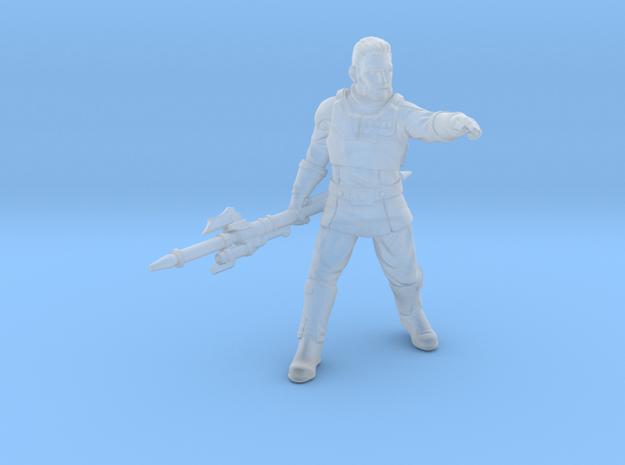 agent kaisar (no helmet) in Smooth Fine Detail Plastic