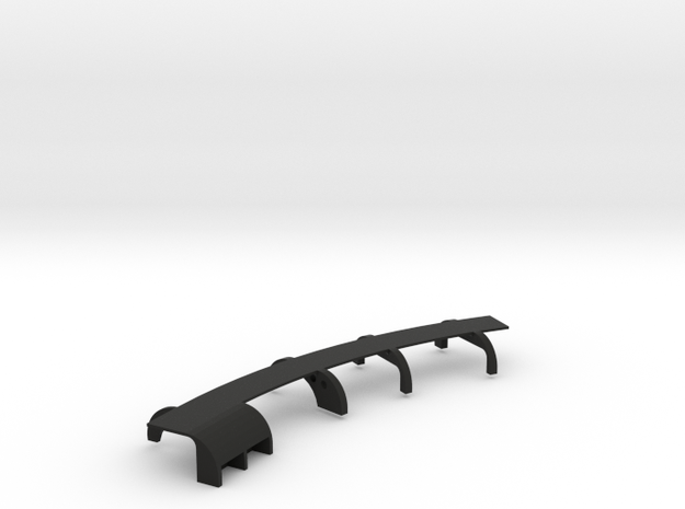 Ventress Chassis Side 2  in Black Strong & Flexible