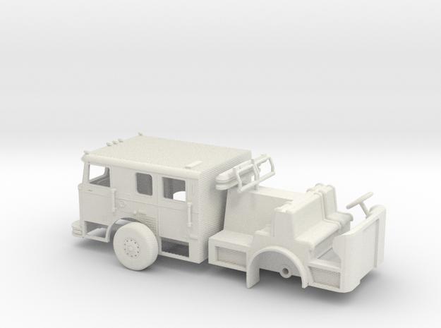 1/87 LA(ish) Seagrave Cab V2 in White Natural Versatile Plastic