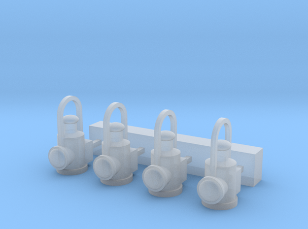 OO Scale LNER Lamps in Smoothest Fine Detail Plastic