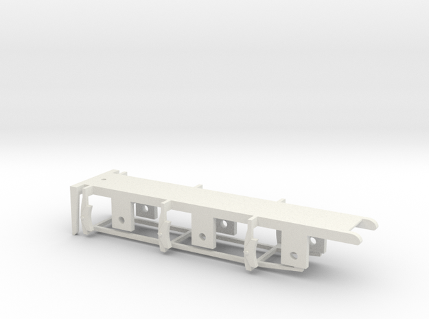 FR K2 / Cambrian Tender - 00 Chassis in White Natural Versatile Plastic
