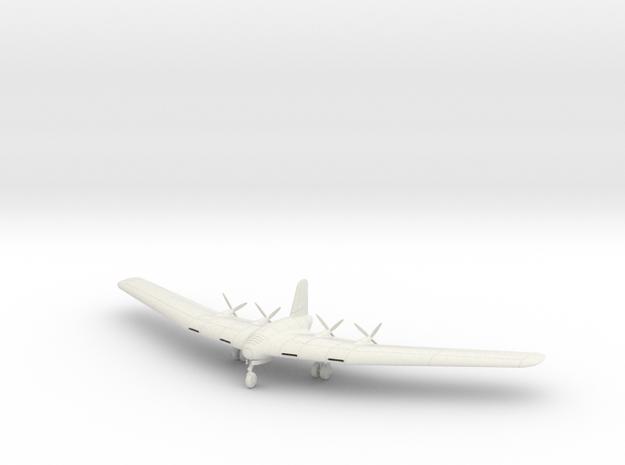 (1:144) Messerschmitt Me P.08.01 in White Natural Versatile Plastic