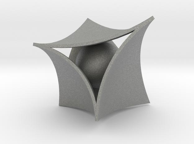 Pearl Pendant in Gray PA12