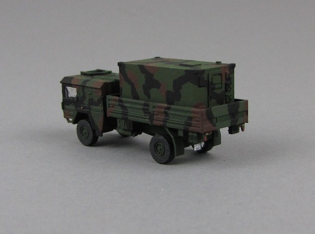 1:144 Kabine 2 Bundeswehr shelter V1 in Smooth Fine Detail Plastic