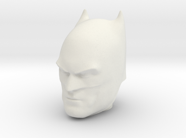 Batman | Comic Version | CCBS Scale in White Natural Versatile Plastic