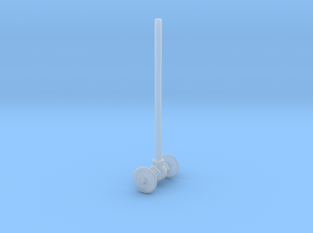 Toilet plumbing in Smoothest Fine Detail Plastic