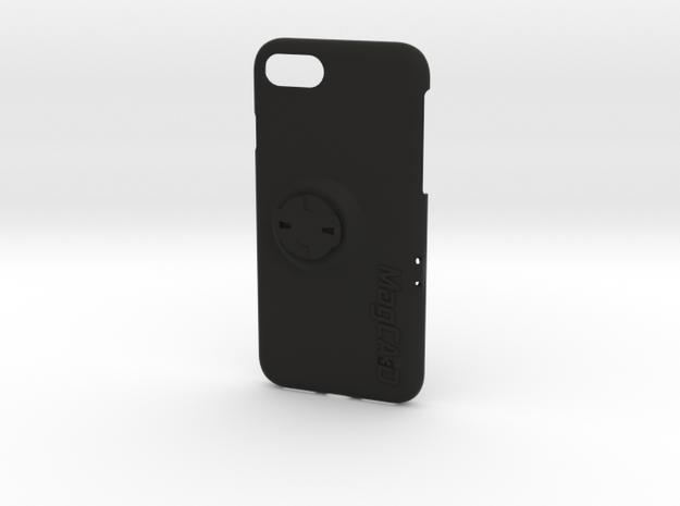 iPhone 8 Wahoo Mount Case - Landscape in Black Natural Versatile Plastic