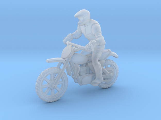 MX Bike Rider 1:64 S in Smooth Fine Detail Plastic