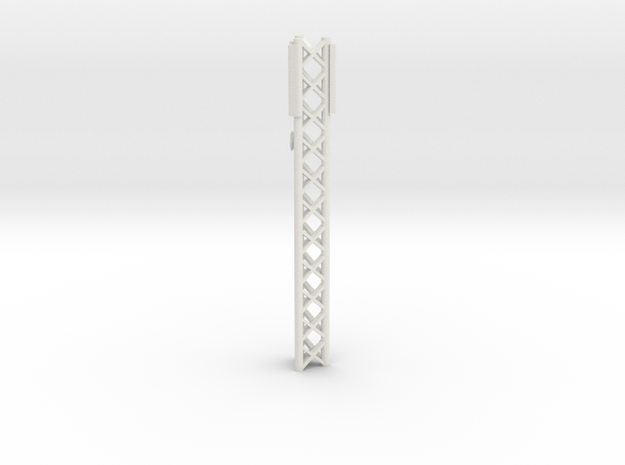Phone Cell Tower 1/72 in White Natural Versatile Plastic