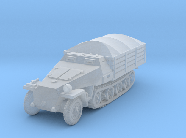 Sdkfz 251 D Pritschen (covered) 1/160 in Smooth Fine Detail Plastic