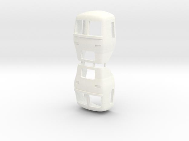 3mm Scale Class 165 Cab in White Processed Versatile Plastic