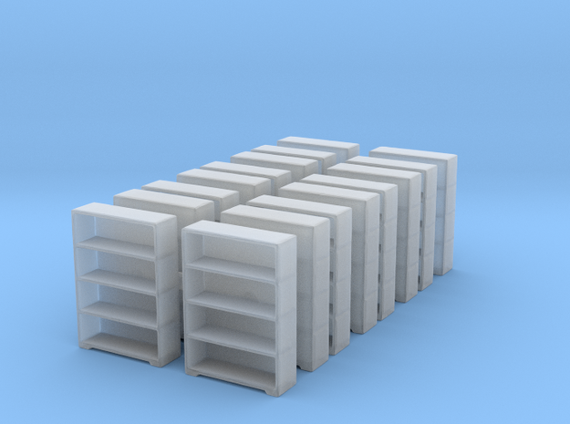 Bookshelf (x16) 1/200 in Smooth Fine Detail Plastic