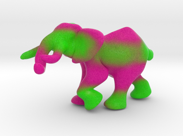 "Elephant 3"" tall in Full Color Sandstone"