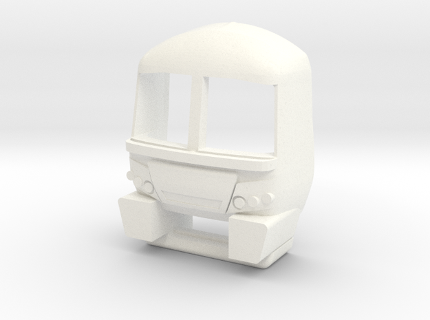 3mm Scale Class 365 Cab in White Processed Versatile Plastic