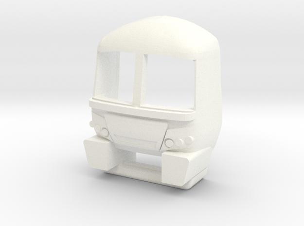 3mm Scale Class 365 Cab in White Processed Versatile Plastic