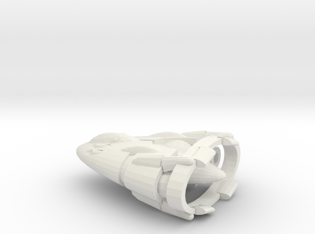 Slipstream I-C Advanced Tactical Fighter in White Natural Versatile Plastic