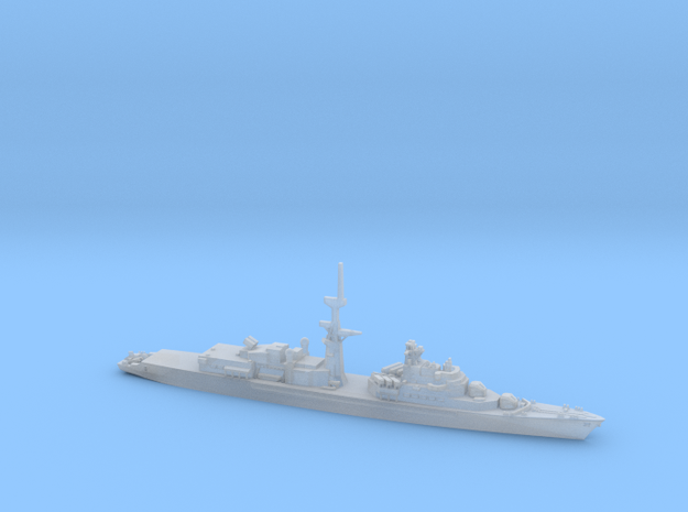 Tourville 1:1250 in Smooth Fine Detail Plastic: 1:1250