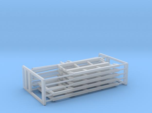 N Gauge Platform Canopy Kit in Smooth Fine Detail Plastic