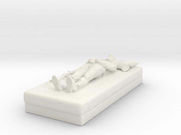 Printle C Homme 307 - 1/32 - wob in White Natural Versatile Plastic