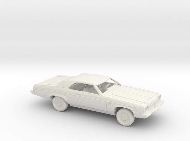1/43 1973 Oldsmobile Delta 88 Coupe Kit in White Natural Versatile Plastic