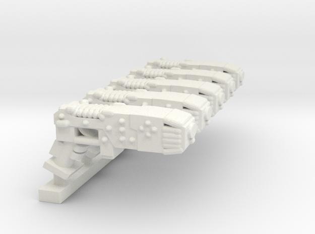 PlasmaPistol SET in White Natural Versatile Plastic