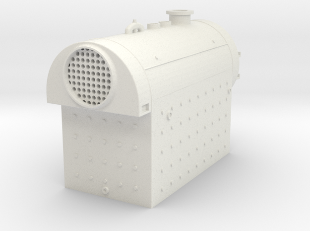 Birchfield Industrial Fire Tube Boiler in White Natural Versatile Plastic