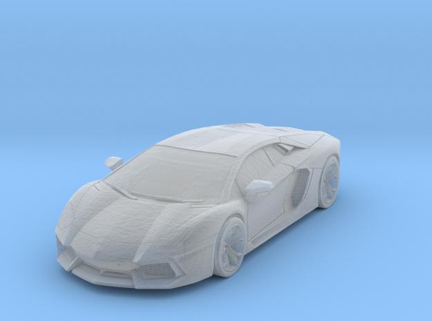 1/160 - Solid: Lamborghini Aventador (N-Scale) in Smooth Fine Detail Plastic