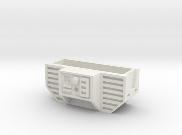 Ab Piece in White Natural Versatile Plastic