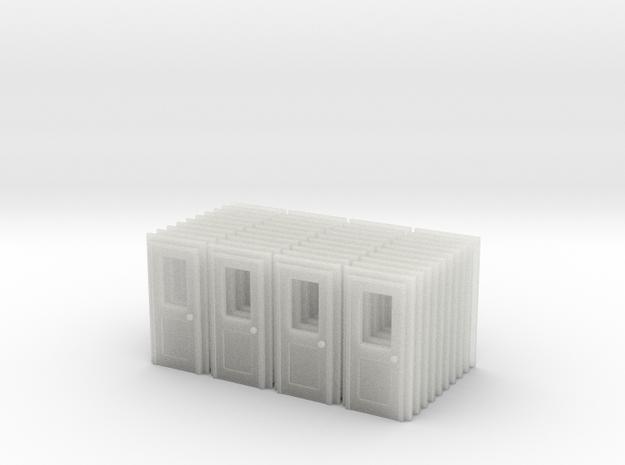 Door Type 3 X 40 RH US N Scale in Smooth Fine Detail Plastic
