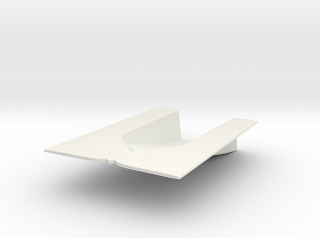 1/72 Cyclone Hull Ramp in White Natural Versatile Plastic
