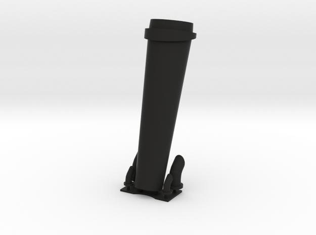 1/72 Bertholf Stack set in Black Natural Versatile Plastic