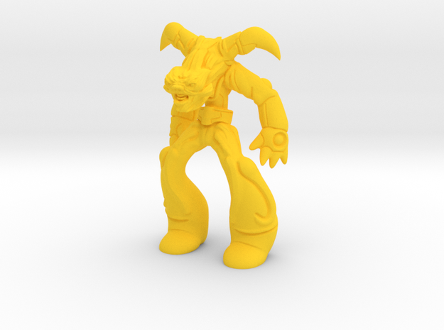 gunslinger of galaxies in Yellow Processed Versatile Plastic