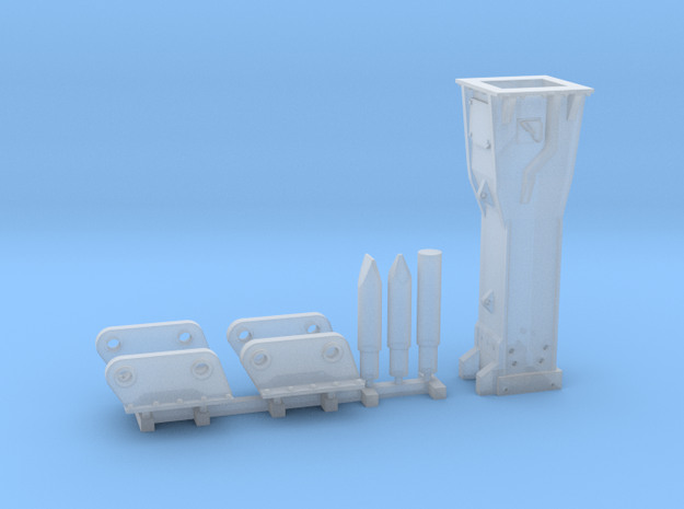 1:50 Hammer for 65Ton excavators in Smooth Fine Detail Plastic