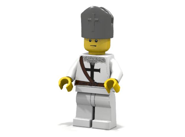 Bishop 3d printed Teutonic Bishop
