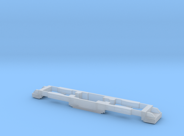 chassis moteur caisse eugi standart SNCV HOm   in Smooth Fine Detail Plastic: 1:87 - HO