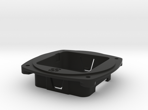 "M5Stack 3-1/8"" Instrument Hole Adapter in Black Natural Versatile Plastic"