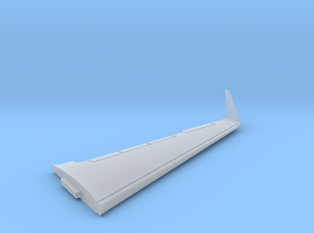 G550-144Scale-Detailed-04-Wing-left in Smooth Fine Detail Plastic